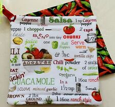 New listing Handmade pot holders - 100% Proceeds Benefit The Smile Train