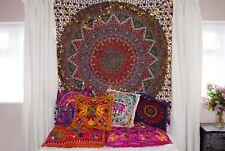 Indian Tapestry Wall Hanging Mandala Throw Cover Bohemian Classic Red dortoir DECO