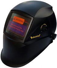 Auto Oscurecimiento Solar Soldadores Casco Soldadura Máscara con el modo de molienda H12 Negro