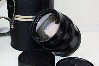 RARE BLACK JUPITER-9 85mm f/2 Rangefinder USSR Carl Zeiss Sonnar copy lens M39