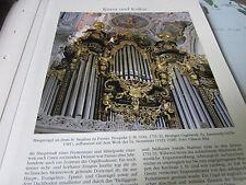 Archiv Bayerische Geschichte 10 Kultur 5350 Orgelbau Passau