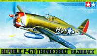 Tamiya 61086 Republic P-47D Thunderbolt Razorback 1/48 Scale Kit