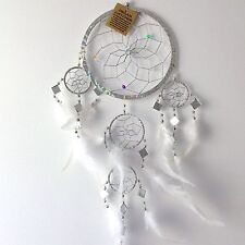 Nouveau argent plume dream catcher native american Hanging Mobile