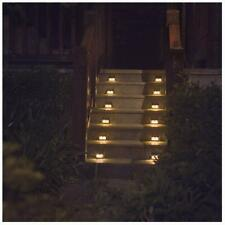 Warm Light Solar Lights for steps decks pathway yard stairs fences LED lamp o...
