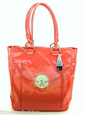 MIMCO TURNLOCK SHOPPER TOTE BAG APRICOT PINK PATENT BAG BNWT RRP$499