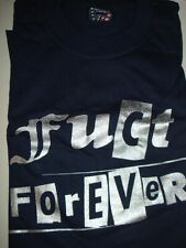 FUCT- FOREVER T-SHIRT XL NAVY Vintage NEW