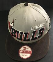 Chicago Bulls New Era Snapback Hat 9Fifty Windy City NBA Cap Hardwood Classics