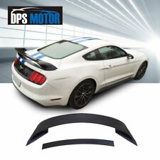 Matt Black GT350 Style ABS Rear Trunk Spoiler Lip Wing For 2015-18 Ford Mustang
