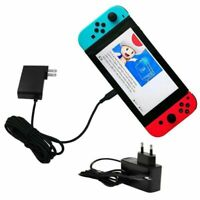 S AC Power Charger Caricabatterie Cavo Per Switch Console EU Plug