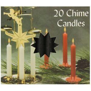 Biedermann & Sons Chime Candles, Black (C1123BK)