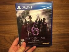 Resident Evil 6 [PlayStation 4 PS4, HD Remaster] ***BRAND NEW FACTORY SEALED***