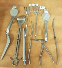 Mixed Lot Of 10 Medicalsurgical Instruments