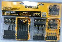 DEWALT DWAMFQ110 110-Piece Screw driving Bit Impact Drill Driver Set, GL133