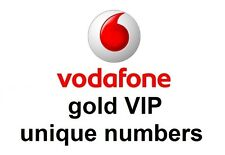 vodafone gold vip easy to remember unique mobile phone numbers