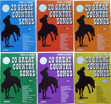 Great Country Songs Volumes 1 - 6 (Words and Chords)