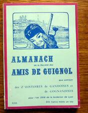 THEATRE ALMANACH DE LA SOCIETE DES AMIS DE GUIGNOL 1973
