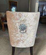 Lion head knocker chairs