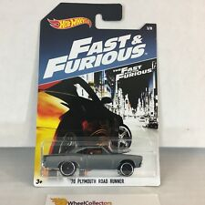 '70 Plymouth Road Runner * Hot Wheels Fast & Furious * WE9