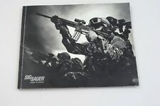 SIG SAUER PRODUCTS CATALOG BOOKLET / 2012 / NEW / 90 PAGES / GUNS / RIFLES