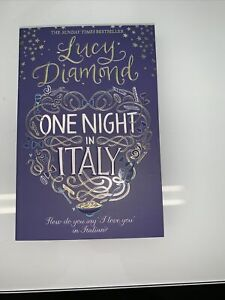 Lucy Diamond, One Night in Italy, Brand New, Paperback