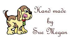 130 Personalised Labels  / Address / Hobbies design Dog Design 7