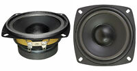 """NEW (2) 4"""" Woofer Speakers.Home Audio Replacement Pair.4.5"""" total frame.8ohm."""