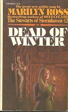 "DEAD OF WINTER  Marilyn Ross - GOTHIC - ""DARK SHADOWS""  AUTHOR"