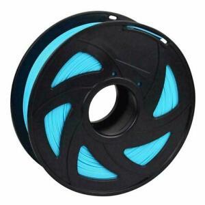 3D Drucker Filament Printer 1KG Rolle 1,75mm ABS - Luminous blue -  Neon Blau