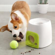 Dog Training Thrower Ball Interactive Toys Tennis Launcher Pet Food Reward