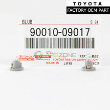 GENUINE TOYOTA 4RUNNER 03-09 COOLER CONTROL SWITCH BULB SET OF 2 OEM 90010-09017