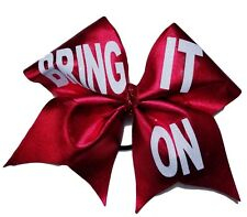 BRING IT ON Red Mystique Cheer Hair Bow
