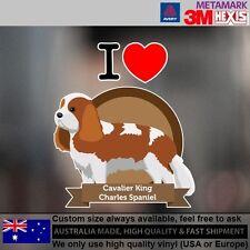 Cavalier King Charles Spaniel Sticker Style Custom cute Gift  10.8 cm  x 12.7 cm