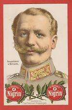 Generaloberst von EINEM LITHO Steindruck Carl Gentner Göppingen Nigrin Schuhputz