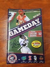 Taylor Gushue Signed Potomac Nationals Program