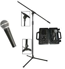 MICROPHONE +  MIC STAND + 4.5m LEAD & CLIP Package Great for Bands