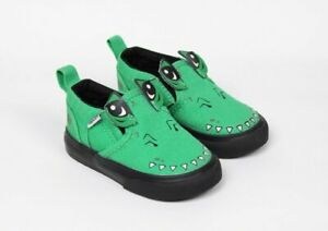 Vans Alligator Slip On Sneakers Shoes Boys Baby Toddler Size 4 NEW