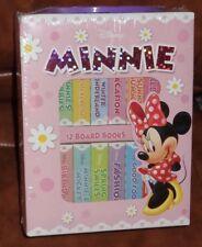 Disney Minnie (Book Blocks) 12 sturdy board books - New in Carry Case