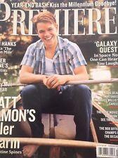Premiere Magazine Matt Damon's Killer Charm January 2000 123117nonrh