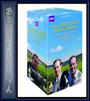 ALL CREATURES GREAT AND SMALL SERIES 1 - 7 + SPECIALS**BRAND NEW DVD BOXSET*