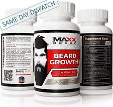 MAXX BARBA-massimizzare crescita barba & Volume-stimolare & Supporto supplemento