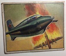 RED MENACE #39 Soviet Rocket Fighter (1951) Bowman Gum non-sport card