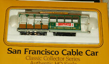 BACHMANN 41-0605-G2 SAN FRANCISCO CABLE CAR  POWELL & MASON HO GAUGE