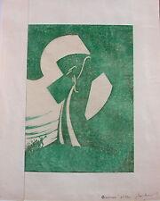 "Sybil Andrews (1898-1992) ""Gethsemane 2nd Block"""