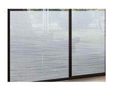 Fensterfolie Sichtschutz statisch Milchglasfolie Streifen Garbi Meterware