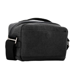 Tenba Cooper 6 Camera Bag - Luxury Canvas with Leather Accents