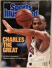 12.12.1988 CHARLES BARKLEY Sports Illustrated PHILADELPHIA 76ers