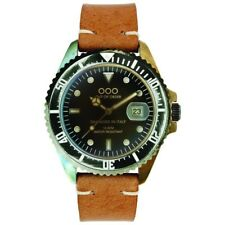 NEW OOO(OUT OF ORDER WATCH) SCORPIONE Light Brown 40mm Damaged In Italy