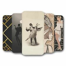 For Samsung Galaxy S8 Flip Case Cover 1920s Collection 1