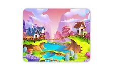 Colourful Magic Realm Mouse Mat Pad - Cute World Fairy Fun Computer Gift #16884