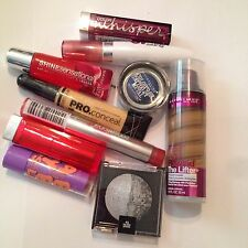 NEW MAYBELLINE Lipstick Lip Stain Lip Gloss Assorted Colors Wholesale Lot 10